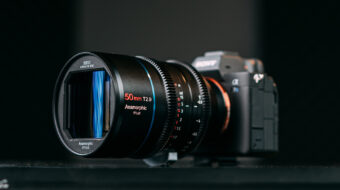 SIRUI 50mm T2.9 1.6x Full-Frame Anamorphic Lens Now on Indiegogo
