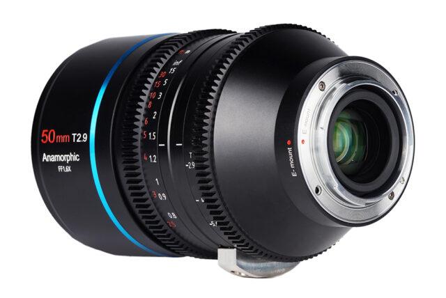 SIRUI 50mm T2.9 1.6x Full-Frame Anamorphic Lens E-Mount