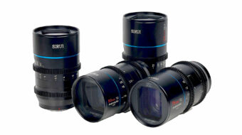 SIRUI Mars 1.33x Anamorphic Lenses Available in Canon RF/L/FZ-Mounts via MTF Services