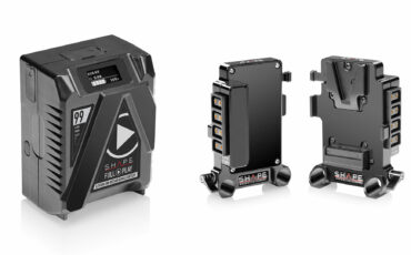 SHAPE Full Play 99Wh Mini Battery and Multi D-Tap V-Mount Plate Launched