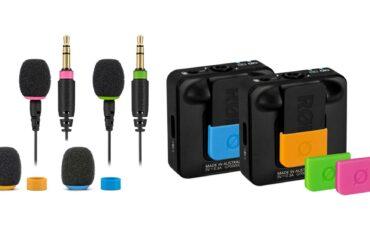 Nuevos accesorios RØDE Wireless GO II - FlexClip GO y COLORS 2
