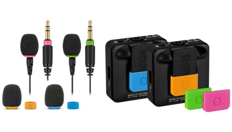 New RØDE Wireless GO II Accessories – FlexClip GO and COLORS 2
